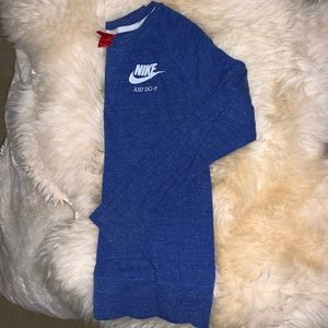 Nike blue sweatshirt size M